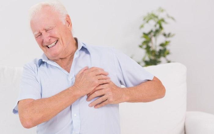 Утолщение стенки левого желудочка сердца
